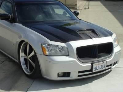 TruCarbon - TruCarbon A23 Carbon Fiber Hood: Dodge Magnum 2005 - 2007 - Image 3
