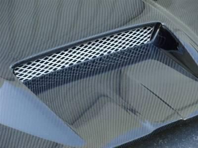 TruCarbon - TruCarbon A23 Carbon Fiber Hood: Dodge Magnum 2005 - 2007 - Image 4