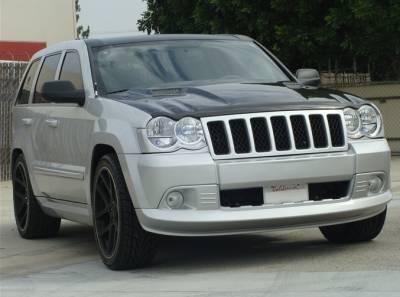 TruCarbon - TruCarbon A58 Carbon Fiber Hood: Jeep Grand Cherokee 2005 - 2010 - Image 2