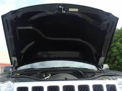 TruCarbon - TruCarbon A58 Carbon Fiber Hood: Jeep Grand Cherokee 2005 - 2010 - Image 5