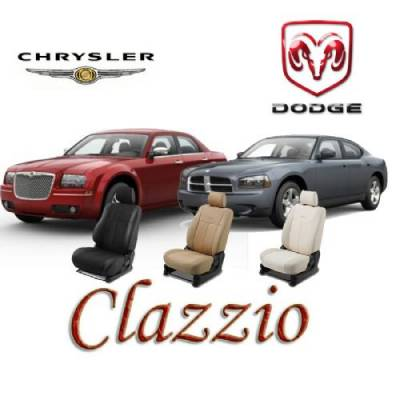 Clazzio - Clazzio Leather Seat Covers: Dodge Charger SE 2006 - 2010 - Image 4