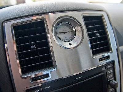 American Car Craft - American Car Craft Center Dash Trim Polished / Brushed: 300C / Charger / Magnum 2005-2010