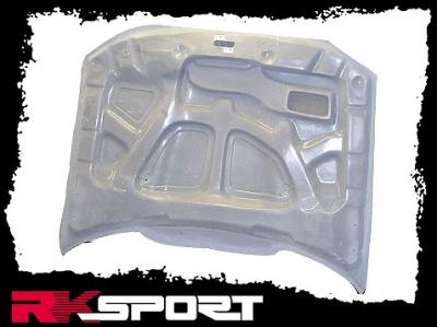 RK Sport - RK Sport Ram Air Hood: Dodge Magnum 2005 - 2007 - Image 4