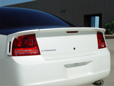 RK Sport - RK Sport Rear Spoiler (3-Piece): Dodge Charger 2006 - 2010