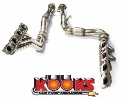 5.7L / 6.1L / 6.4L Hemi Engine Parts - Hemi Headers & Mid Pipes - Kooks - Kooks Long Tube Headers & Mid Pipes: Jeep Grand Cherokee SRT8 2006 - 2010