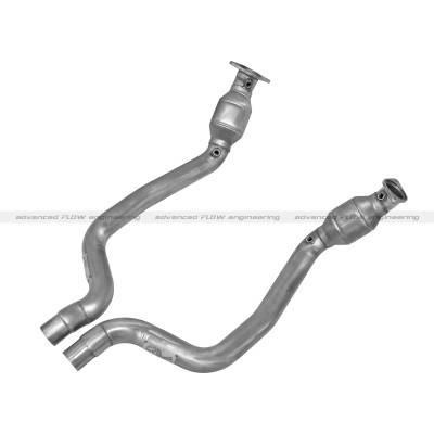 AFE Power - AFE Mid Pipes (use with OE Manifolds or Shorty Headers): 300 / Charger / Challenger / Magnum 6.1L SRT8 & 6.4L 392 2006 - 2021 - Image 2