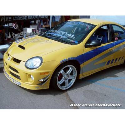APR - APR Front Bumper Canards: Dodge Neon SRT4 2003 - 2005 - Image 4