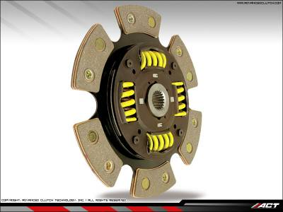 ACT - ACT 6-Puck Clutch Kit (Heavy Duty Pressure Plate / Sprung Hub): Dodge Neon SRT4 2003 - 2005 - Image 2