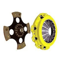 ACT - ACT 4-Puck Race Clutch Kit (Heavy Duty Pressure Plate / Solid Hub): Dodge Neon SRT4 2003 - 2005