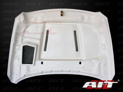 AIT Racing - AIT Racing Type-S Functional Ram Air Hood: Dodge Ram 2009 - 2012 - Image 3