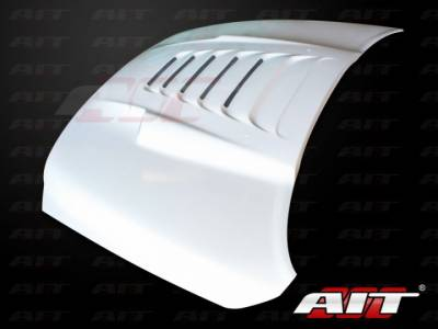 AIT Racing - AIT Racing Type-S Functional Ram Air Hood: Dodge Ram 2009 - 2012 - Image 4