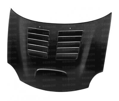 Dodge Neon SRT4 Exterior Parts - Dodge Neon SRT4 Hoods - Seibon - Seibon GT Carbon Fiber Hood: Dodge Neon SRT4 2003 - 2005