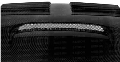Seibon - Seibon GT Carbon Fiber Hood: Dodge Neon SRT4 2003 - 2005 - Image 4