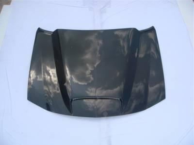 TruCarbon - TruCarbon A9 Carbon Fiber Hood: Dodge Charger 2006 - 2010 - Image 2
