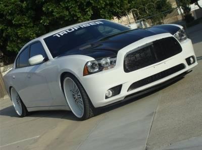 TruCarbon - TruCarbon A58 Carbon Fiber Hood: Dodge Charger 2011 - 2014 - Image 2