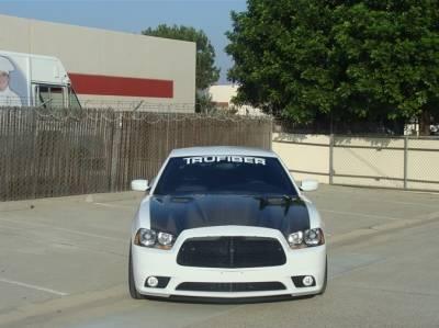 TruCarbon - TruCarbon A58 Carbon Fiber Hood: Dodge Charger 2011 - 2014 - Image 3