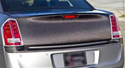 Chrysler 300 Carbon Fiber Parts - Chrysler 300 Carbon Fiber Trunk - TruCarbon - TruCarbon CS6 Carbon Fiber Trunk: Chrysler 300 / 300C 2005 - 2010