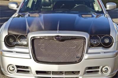 TruCarbon - TruCarbon LG135 Carbon Fiber Grille: Chrysler 300 / 300C 2005 - 2010 - Image 2