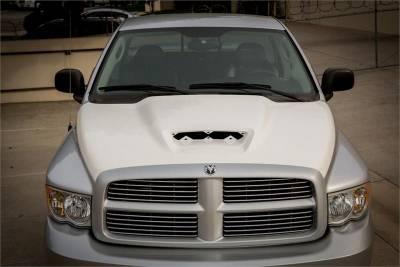 Dodge Ram Exterior Parts - Dodge Ram Hood - TruFiber - TruFiber A64 Fiberglass Hood: Dodge Ram 2002 - 2008