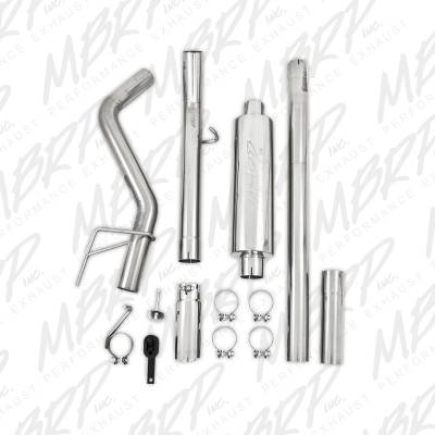"MBRP - MBRP XP Series Cat-Back 3"" Single Side Exhaust System: Dodge Ram 5.7L Hemi 2006 - 2008 (Mega Cab) - Image 3"