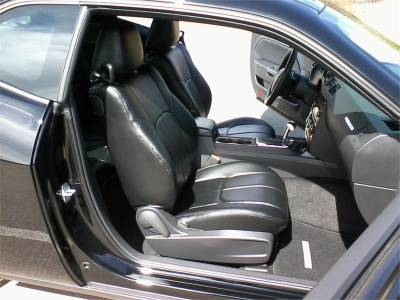 Clazzio - Clazzio Leather Seat Covers: Dodge Challenger 2011 - 2014