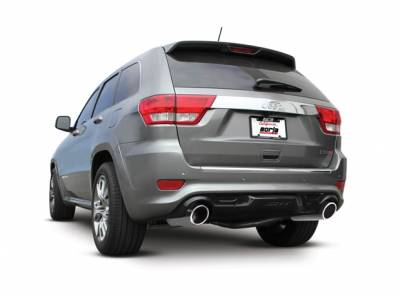Borla - Borla Axle-Back Exhaust S-Type: Jeep Grand Cherokee SRT8 2012 - 2014 - Image 2