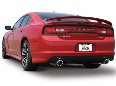 Borla - Borla Axle-Back Exhaust ATAK: Dodge Charger / 300 SRT8 2011 - 2014 - Image 2