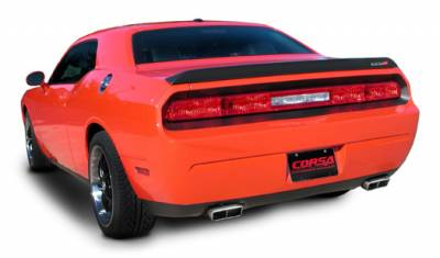 Corsa - Corsa Performance Exhaust: Dodge Challenger R/T 2009 - 2014 (Automatic Only) - Image 2