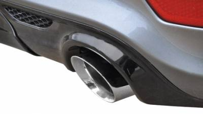 Corsa - Corsa Sport Cat-Back Exhaust (Polished): Jeep Grand Cherokee 6.4L SRT 2012 - 2021 - Image 3
