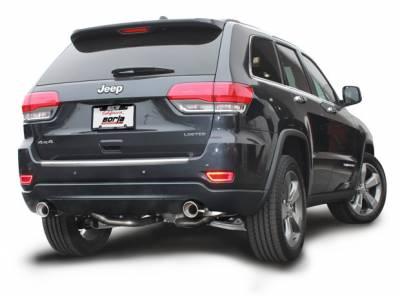 Borla - Borla Cat-Back Exhaust: Jeep Grand Cherokee 5.7L Hemi 2011 - 2021 - Image 2