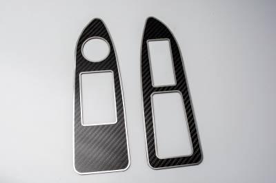 American Car Craft - American Car Craft Carbon Fiber Arm Control Trim Plate: Dodge Challenger R/T SRT8 2008 - 2014 - Image 3