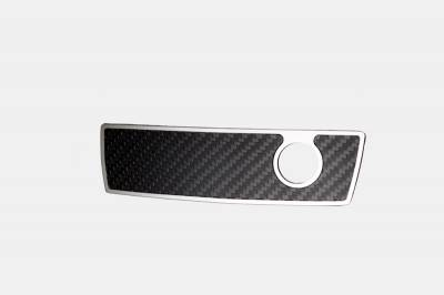American Car Craft - American Car Craft Carbon Fiber Glove Box Handle Trim: Dodge Challenger R/T SRT8 2008 - 2014 - Image 3