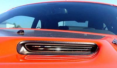 American Car Craft - American Car Craft Polished Billet Hood Scoop Grilles: Dodge Challenger 2008 - 2014 - Image 2