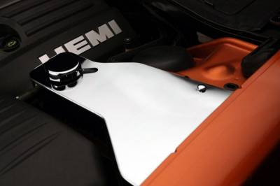 American Car Craft - American Car Craft Polished Water Tank Cover w/ Cap: Dodge Challenger 2011 - 2021 (V8 Models) - Image 3