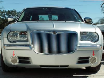 American Car Craft - American Car Craft Fog Light Grille Polished Billet Style: Chrysler 300C 2005 - 2010 - Image 3