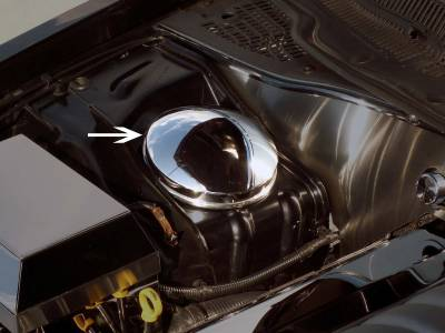 American Car Craft - American Car Craft Shock Tower Dome Covers: 300C / Charger / Magnum 2005 - 2020 - Image 3