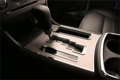 American Car Craft - American Car Craft Shifter Plate Trim Rings (Polished): Dodge Charger R/T 2011 - 2014