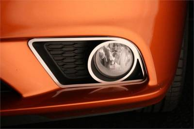 American Car Craft - American Car Craft Fog Light Trim Rings (Polished): Dodge Charger R/T 2011 - 2014 - Image 3