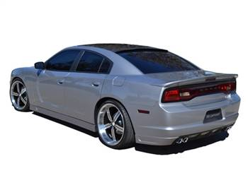 RK Sport - RK Sport Ground Effects Kit with Carbon Fiber Front Lower Valance: Dodge Charger 2011 - 2014 - Image 2