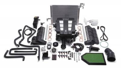 DODGE CHALLENGER PARTS - Dodge Challenger Supercharger Kits - Edelbrock - Edelbrock E-Force Supercharger Kit: 300C / Challenger / Charger 5.7L Hemi 2011 - 2014