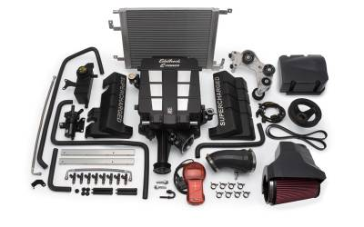 HEMI SUPERCHARGER KIT - Hemi Supercharger Kits - Edelbrock - Edelbrock E-Force Supercharger Kit: 300C / Challenger / Charger / Magnum 6.1L SRT8 2006 - 2010