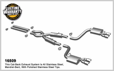 Magnaflow - MagnaFlow Cat-Back Exhaust (Street Series): Dodge Challenger SRT8 2008 - 2014 - Image 2