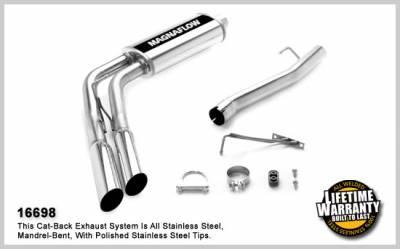 Magnaflow - MagnaFlow Cat-Back Exhaust: Dodge Ram 2006 5.7L Hemi (Solid Front Axle) - Image 3