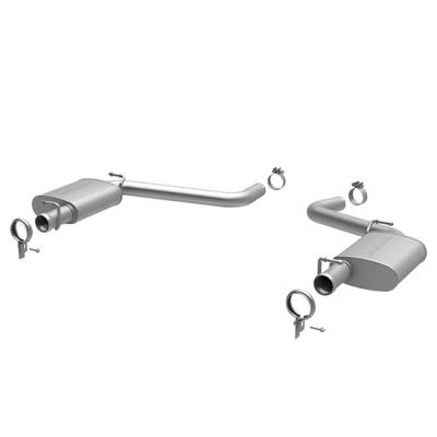 Dodge Challenger Engine Performance - Dodge Challenger Exhaust System - Magnaflow - MagnaFlow Axle-Back Exhaust (Street Series): Dodge Challenger 5.7 L Hemi 2009 - 2014