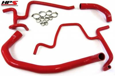 DODGE MAGNUM PARTS - Dodge Magnum Cooling Parts - HPS - HPS Silicone Radiator Hose Kit: 300C / Challenger / Charger / Magnum 5.7L Hemi 2005 - 2018