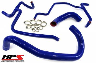HPS - HPS Silicone Radiator Hose Kit: 300C / Challenger / Charger / Magnum 6.1L SRT8 2006 - 2010 - Image 2