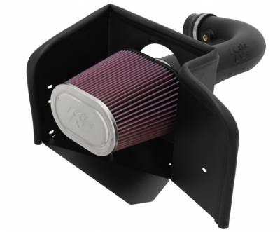 3.7L / 4.7L Engine Parts - 3.7L / 4.7L Air Intake - K&N Filters - K&N 57 Series FIPK Cold Air Intake: Dodge Ram 4.7L V8 2002 - 2007 (1500)