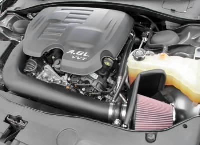K&N Filters - K&N 63 Series Cold Air Intake: Chrysler 300 / Dodge Challenger / Charger 3.6L V6 2011 - 2020 - Image 2