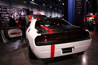 Anderson Composites - Anderson Composites Fiber Bumper Light Surround: Dodge Challenger 2008 - 2014 - Image 3