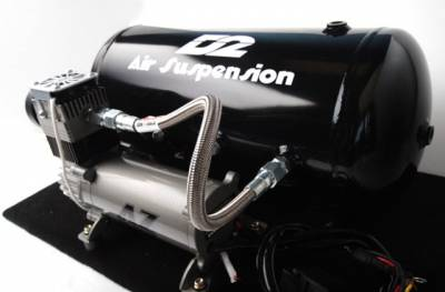 D2 Racing - D2 Racing Air Suspension Kit: 300 / Challenger / Charger / Magnum 2005 - 2010 (RWD)